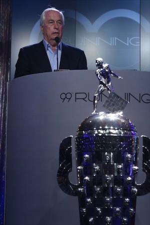 Team owner Roger Penske is in his 50th year as a team owner.