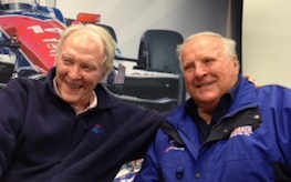 Dan Gurney will be honored by old friend/teammate A.J. Foyt at Indy this year.