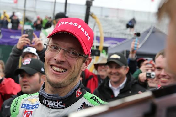 Sebastien Bourdais is headed back to Dale Coyne Racing. (File photo by Chris Jones)
