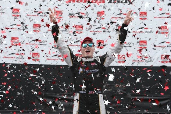 Josef Newgarden will drive a Team Penske Chevrolet in the 2017 IndyCar Series.
