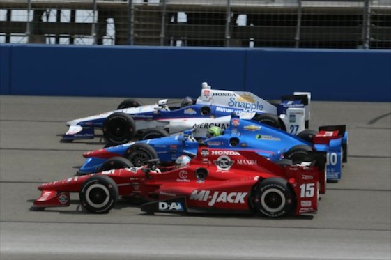 INDYCAR says AutoClub Speedway will not host an event next season. (File photo courtesy of IndyCar Series)