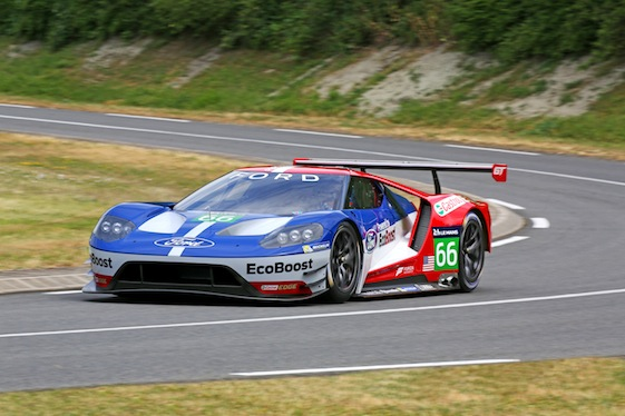 IndyCar champion Scott Dixon will be behind the wheel of a Ford GT at Le Mans this weekend.