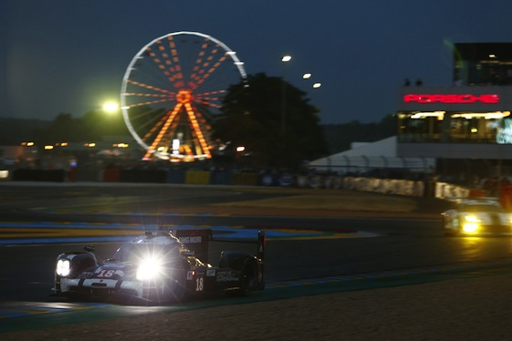 The Porsche 919s are looking to knock Audi off the top step of the podium at Le Mans this year.