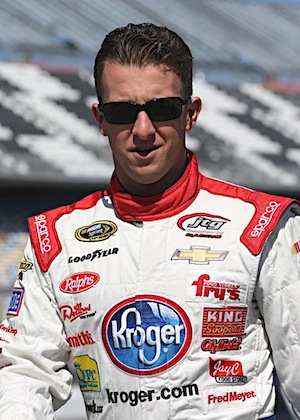AJ Allmendinger hopes to rule the road on Sunday. He got off to a good start on Saturday by winning the pole. (RacinToday/HHP file photo byHarold Hinson)