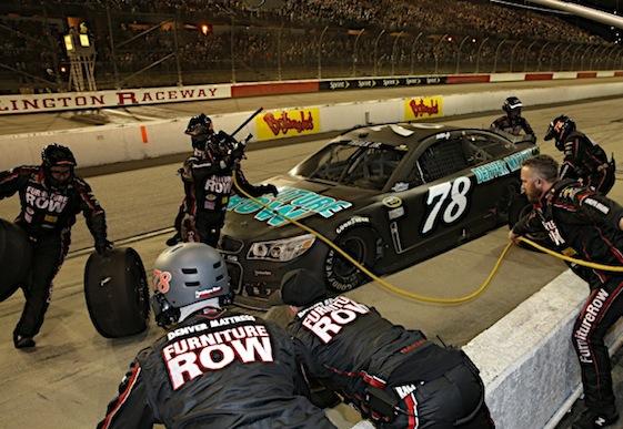 Martin Truex Jr. and Furniture Row Racing keep piling up top-10s. (RacinToday/HHP photo by Harold Hinson)