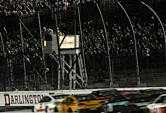 It was a big night at Darlington Raceway for a lot of reasons on Sunday. (RacinToday/HHP photo by Rusty Jarrett )