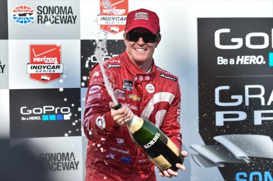 Winning a fourth championship on Sunday has secured Scott Dixon a chair at American open-wheel racing's head table. (Photos courtesy of INDYCAR)