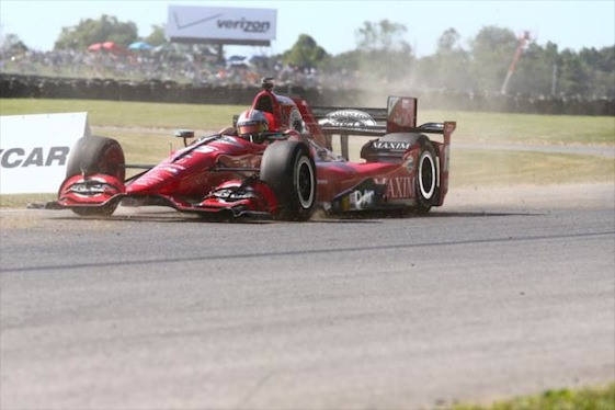 Graham Rahal grabbed the IndyCar Series victory at his home track in Ohio on Sunday afternoon. He also put himself in position to win his first series championship.
