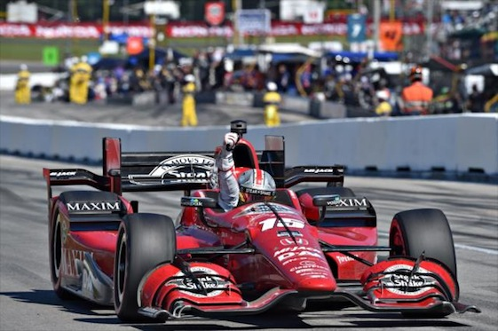 With two races left in the season, it appears Graham Rahal could be closing in on the IndyCar Series championship.