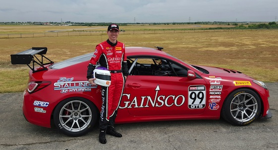 The GAINSCO/Bob Stallings Red Dragon, with Jeff Harrison driving, will make its debut this weekend.