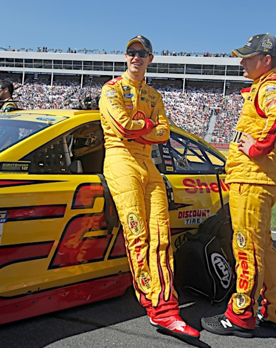 There are 11 Chase drivers who would love to be Joey Logano this weekend. (RacinToday/HHP file photo Alan Marler)