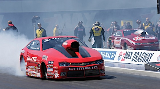 Erica Enders will be going for a second-straight Pro Stock championship as the Countdown kicks off in North Carolina. (RacinToday/HHP file photo by Harold Hinson)