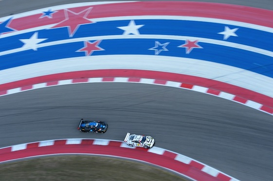 Saturday's IMSA event at the Circuit of the Americas featured racing in all four Tudor United SportsCar Racing's divisions.