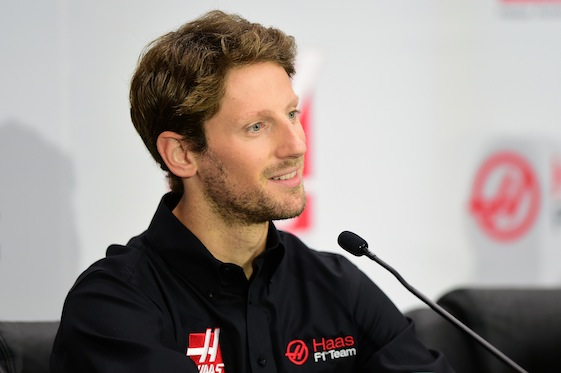 Frenchman Romain Grosjean brings experience with him to American Gene Haas' Formula One team. (Photo by Jared C. Tilton/Stewart-Haas Racing via Getty Images)
