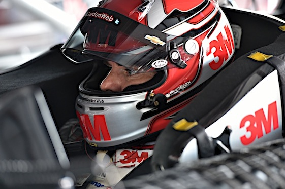 Jeff Gordon will say good-bye to Talladega by leading the field to the green flag on Sunday. (RacinToday/HHP photo by Rusty Jarrett )