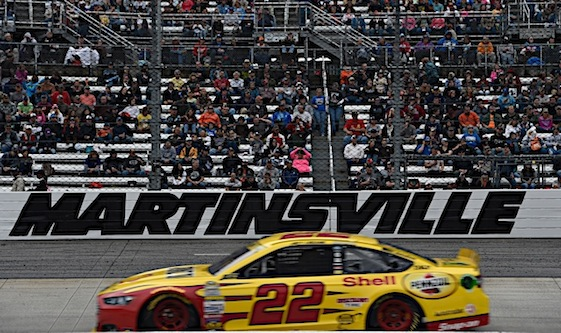 Martinsville was not Loganoville on Sunday. (RacinToday/HHP photo by Rusty Jarrett )