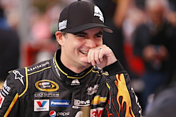 Jeff Gordon could be headed back to the cockpit. (RacinToday/HHP file photo by Gregg Ellman)