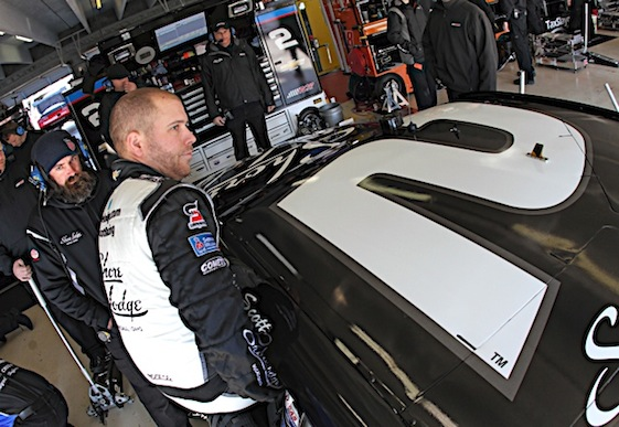 Brian Scott will move to Sprint Cup full time in 2016 as he will drive the No. 9 Ford for Richard Petty Motorsports. (RacinToday/HHP file photo by Alan Marler)