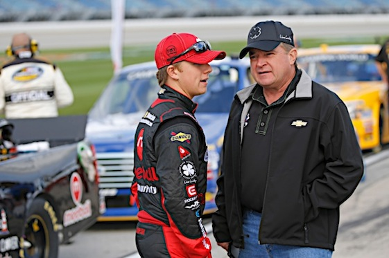 John Hunter Nemechek is making a name for himself in the Camping World Truck Series. (RacinToday/HHP photo by Gregg Ellman)