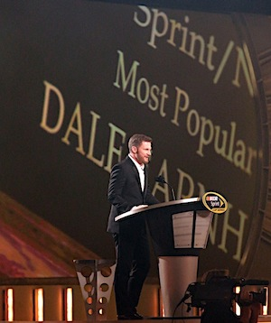 Dale Earnhardt Jr. was once again named NASCAR's most popular driver. (RacinToday/HHP photo by Harold Hinson)