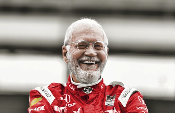 IndyCar-team co-owner and former late-night talk show host David Letterman said his laps around Indianapolis Motor Speedway in one of the most iconic roadsters to race at that track