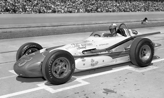 Ol' Calhoun with Parnelli Jones at the wheel in 1963.