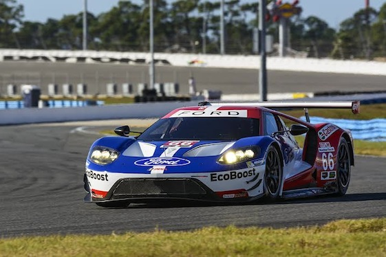 The Ford GT which will debut next season.