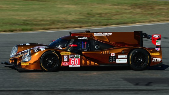 Michael Shank Racing's Honda Ligier came up a winner on Sunday. (File photo)