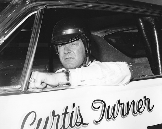 Curtis Turner, who was inducted into the NASCAR Hall of Fame on Saturday, had big reputations for his life both on and off of race tracks. (File photo by ISC Archives via Getty Images)