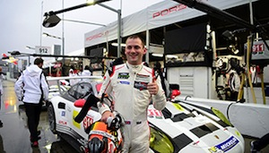 Nick Tandy had the fastest overall lap during qualifying at the Rolex 24. That lap came in a GTLM Porsche 911.