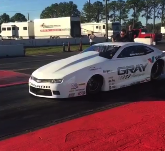 Gray Motorsports tested Pro Stock Camaros using new NHRA rules.