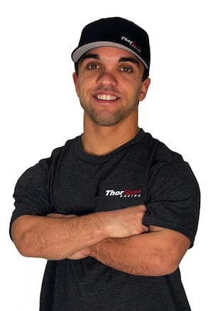 Rico Abreu has been signed to full-season ride in the truck series.