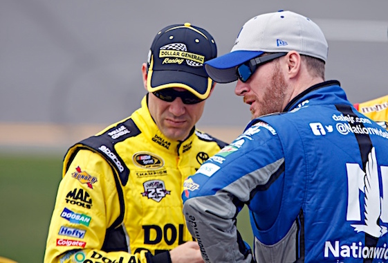 Matt Kenseth is a tough cat to figure – except when it comes to his talent as a driver. (RacinToday/HHP Photo by Alan Marler)