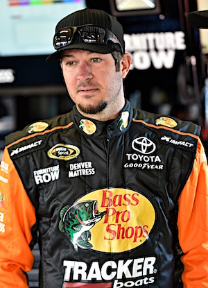 Martin Truex Jr. came up just inches short of winning the Daytona 500 in his first real race in a Toyota. (RacinToday/HHP photo by Rusty Jarrett)