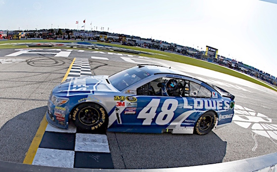 Jimmie Johnson's quest for a seventh Cup championship got a big boost on Sunday. (RacinToday/HHP file photo by Alan Marler)