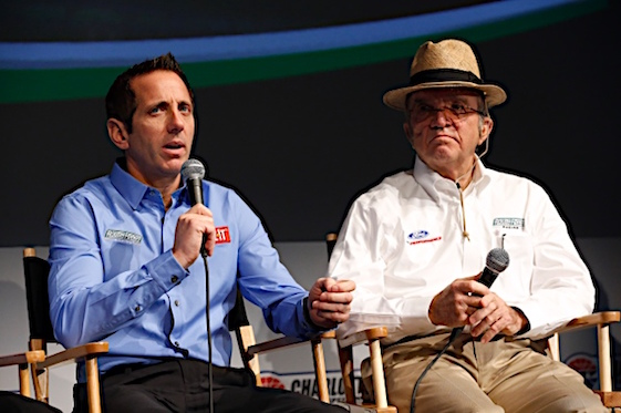 Greg Biffle and team owner Jack Roush are breaking up. (RacinToday/HHP file photo by Andrew Coppley)