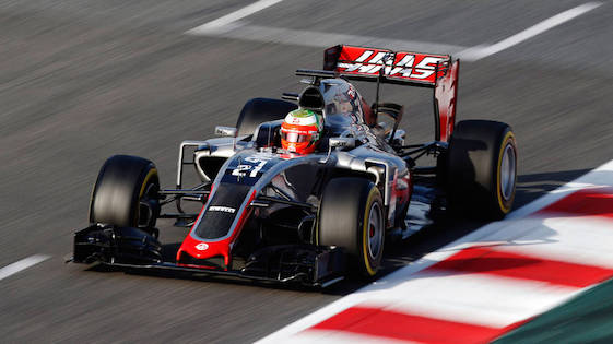 Esteban Gutierrez of America's Haas F1 Team reached Q3 during qualifying at Monza. (File photo by LAT Photographic)
