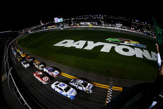 The 2016 NASCAR season officially began Saturday night with the running of the Sprint Unlimited at Daytona International Speedway. (Photo by Sarah Crabill/NASCAR via Getty Images)