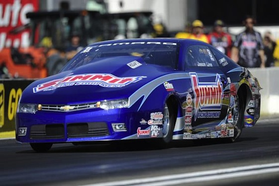 The new-look Pro Stock cars made their debut on Friday at the Circle K Winternationals in Pomona.