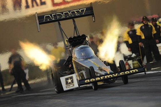Top Fuel ace Tony Schumacher got off to a hot start to the 2016 season on Friday.