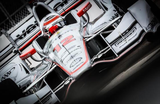 Team Penske's Will Power had an eventful first day of practice in St. Petersburg.