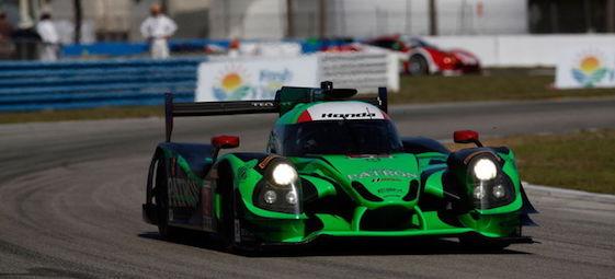 Tequila Patron ESM's Honda Ligier was a winner at Sebring.