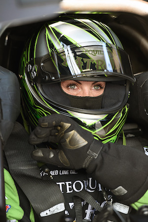 Alexis DeJoria will miss this weekend's NHRA event in Washington state.