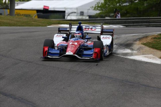Takuma Sato and A.J. Foyt Racing showed major strength on Friday at Barber Motorsports Park.