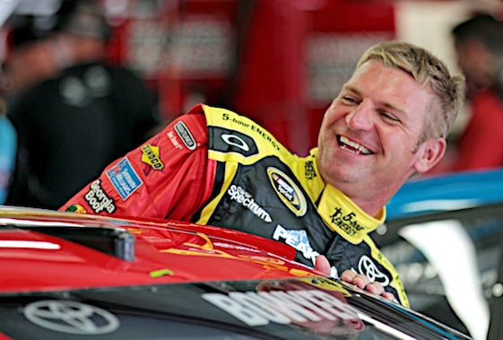 Smiling became a bit tougher for Clint Bowyer in 2016. (RacinToday/HHP file photo by Alan Marler)