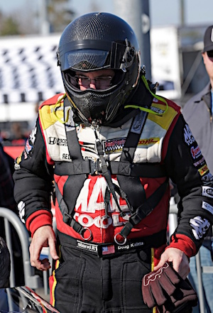 Doug Kalitta bring big momentum into Kansas. (RacinToday/HHP photo by Harold Hinson)