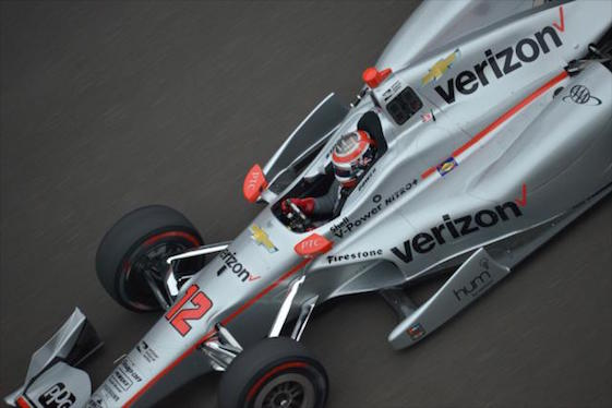 Will Power has the pole in Elkhart Lake. (File photo courtesy of INDYCAR)