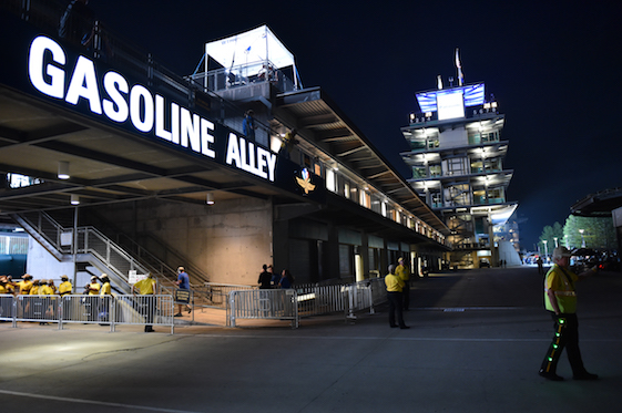 Race day dawned for the 100th running of the Indianapolis 500. (Photo courtesy of INDYCAR)