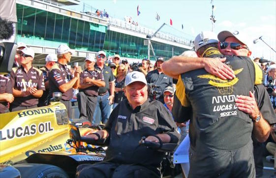 The IndyCar Series team fielded by Sam Schmidt, co-owner of Schmidt Peterson Motorsports, will be well represented in Sunday's 100th running of the Indianapolis 500. (Photos courtesy of INDYCAR)