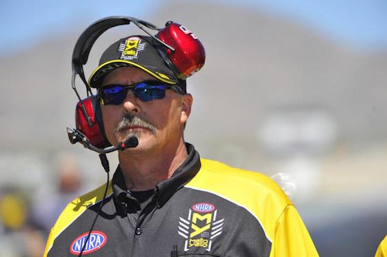 Mike Gittings is the NHRA's new chief starter.